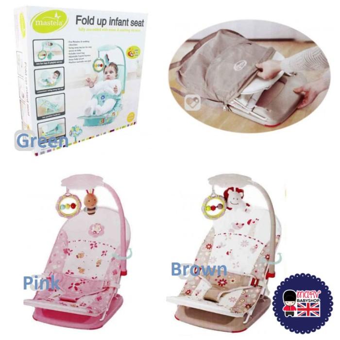 harga Bouncer mastela fold up infant seat Tokopedia.com