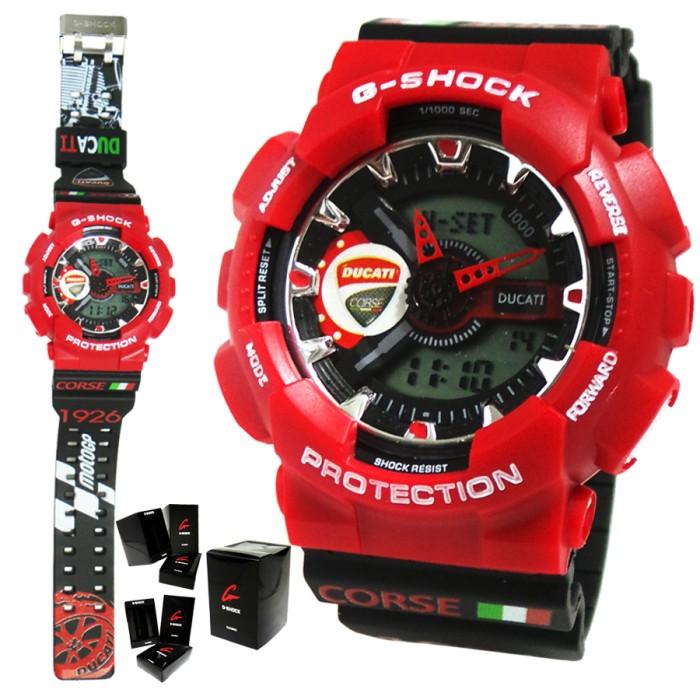 Jual Jam Tangan G-Shock Ducati Series GA-110 Replica Gshock Murah ... 631cd5edb2