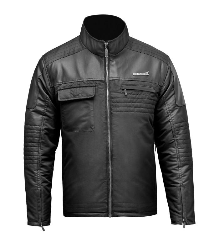 harga Jaket honda taslan black jacket hitam leather kulit keren Tokopedia.com