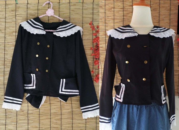 Jual Baju Sailor Cosplay Jepang Murah Lucu Osamu Melancolic