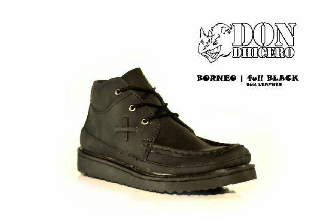 Jual Free Bonus !!! Sepatu Pria Boot Don Dhicero Borneo - Hitam a313ab289c
