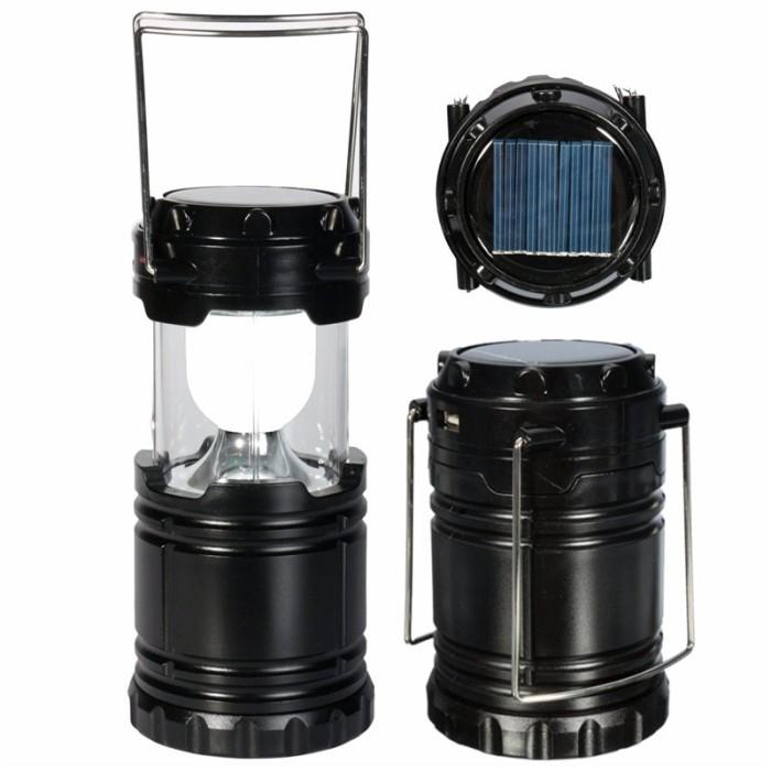 harga Powerbank + lampu lentera tarik solar cell Tokopedia.com