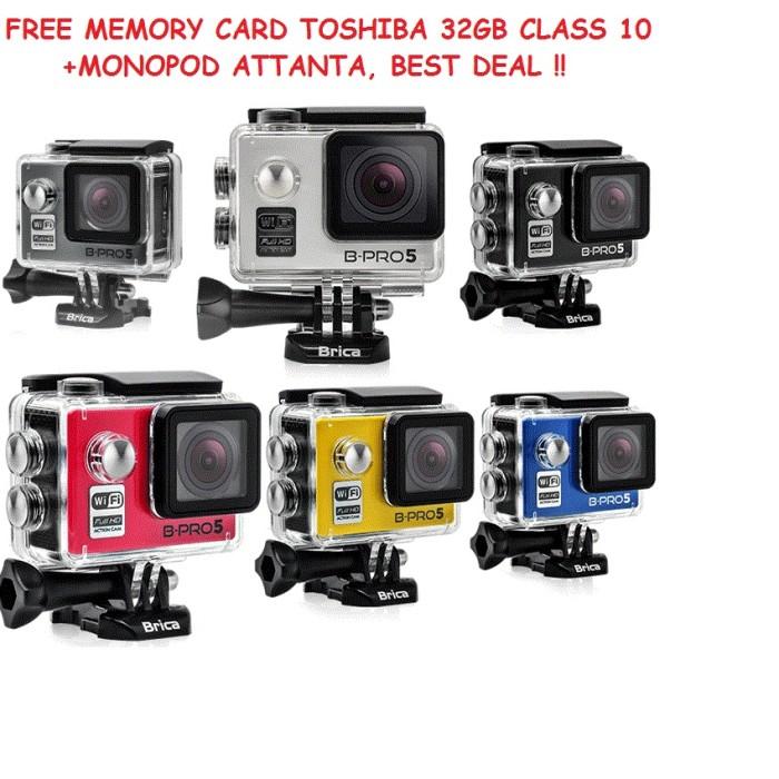 harga Brica b-pro 5 alpha edition + memory 32gb + monopod attanta promo !! Tokopedia.com