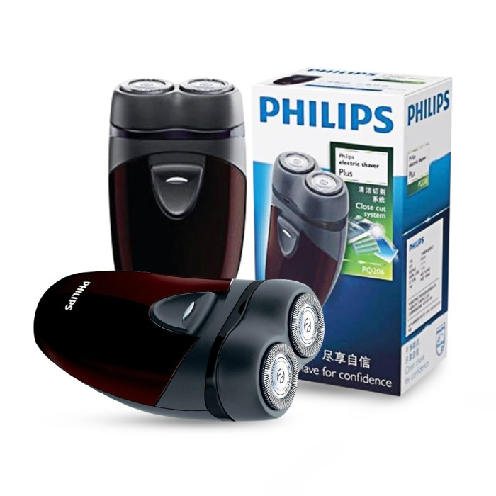 Jual Philips Shaver PQ206 Alat Cukur Jambang Kumis