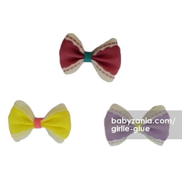 harga Girlie glue vintage bows / jepitan tempel - ungu kuning Tokopedia.com