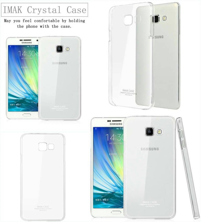 harga Imak crystal case 2nd series samsung galaxy a3 a310 (2016) Tokopedia.com