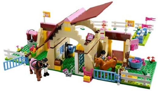Jual Lego Friends 3189 Heartlake Stables Horse Rider Horse Stable