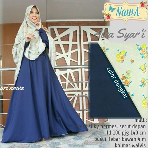 harga Supplier baju hijab aira syari nw Tokopedia.com