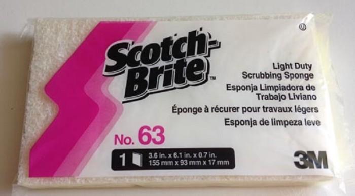 Jual 3m Scotch Brite 63 Light Duty Scrub Sponge Sabut