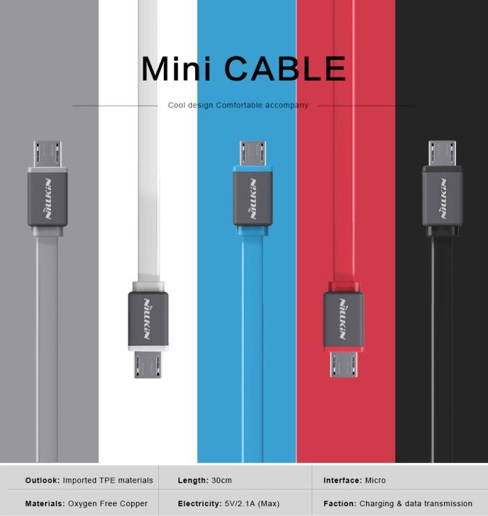 harga Nillkin mini cable (micro usb) Tokopedia.com
