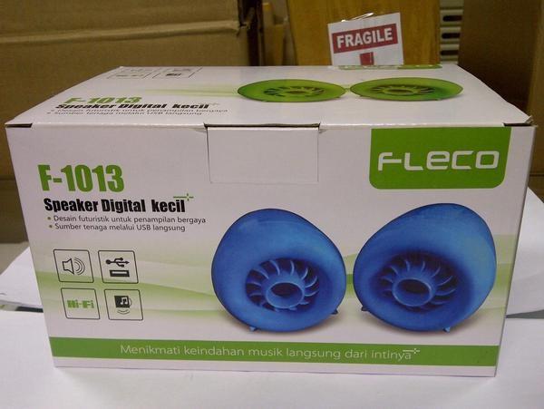 harga Speaker  active fleco f-1013 Tokopedia.com