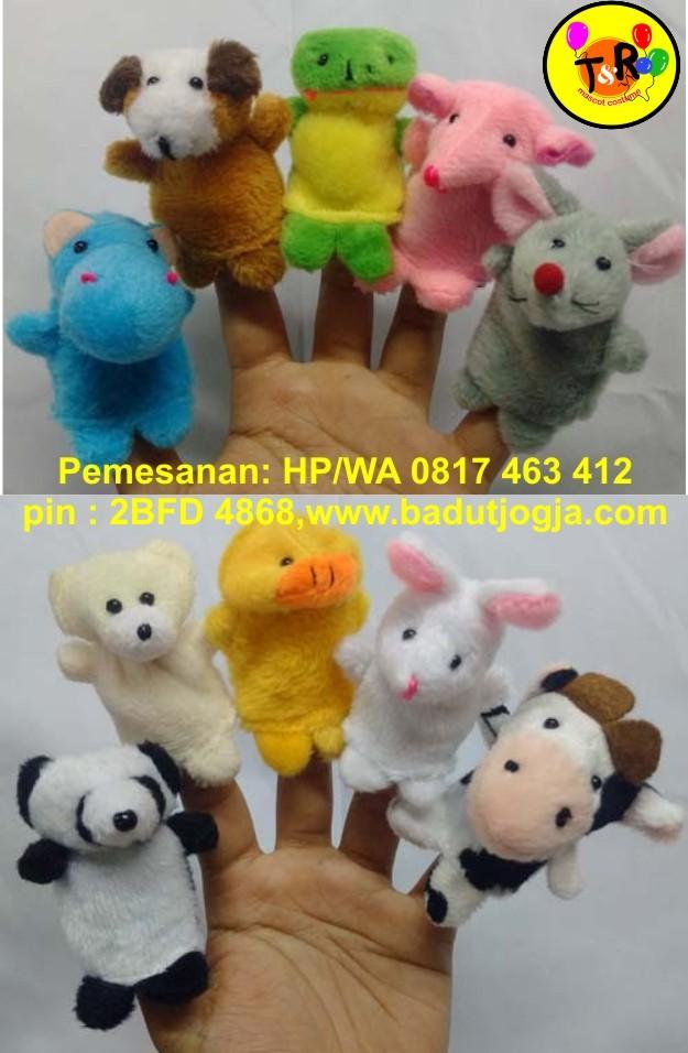 harga Boneka jari hewan / finger puppet animal isi 10 pcs Tokopedia.com