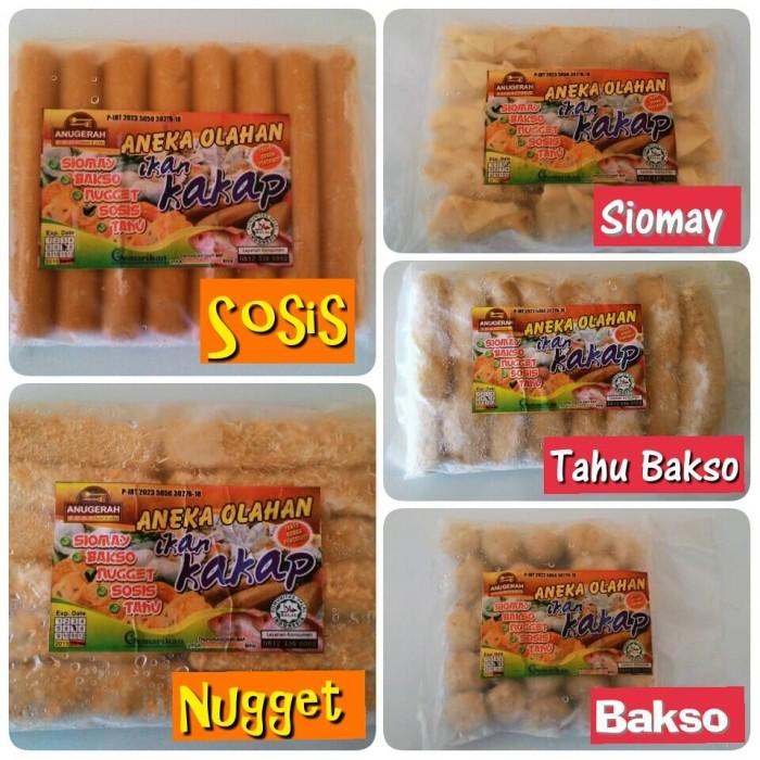 Jual Sosis Nugget Bakso Tahu Bakso Dan Siomay Ikan Kakap Kab Probolinggo Abata Muslim Kids Shop Tokopedia