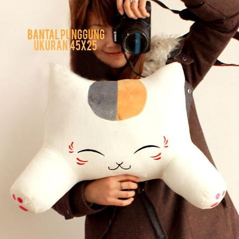 harga Bantal Punggung Untuk Kursi Kantor Dan Mobil Karakte Boneka Cat Tokopedia.com