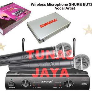 harga Mic wireless shure ungu sm 58 ii Tokopedia.com