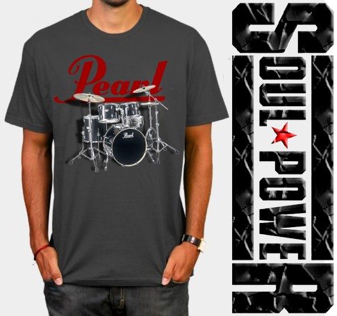 harga Kaos 3d soulpowerstyle pearl drum Tokopedia.com