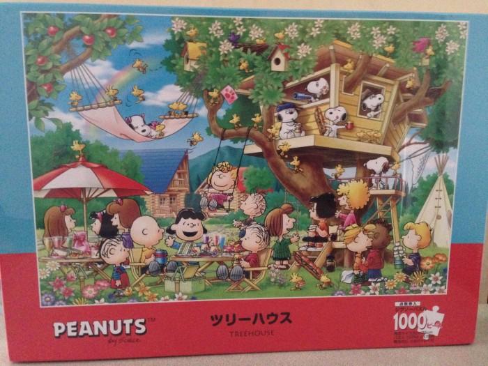 harga The peanuts jigsaw puzzle 1000 pcs - tree house Tokopedia.com