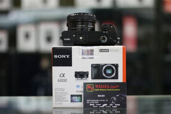 harga Sony alfa 6000 kit 16-50 Tokopedia.com