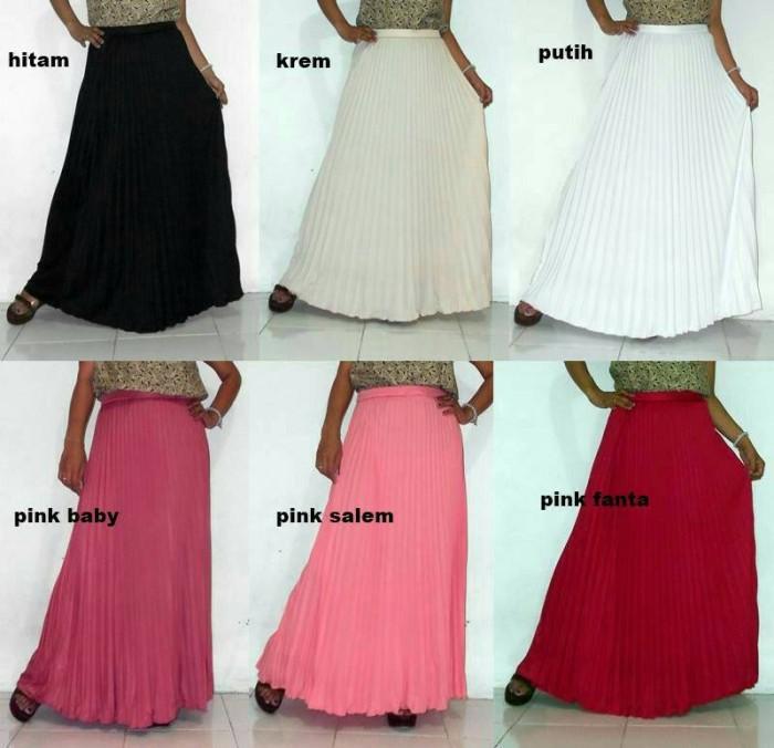 harga Rok plisket halus/dress/gamis/setelan panjang/baju wanita Tokopedia.com