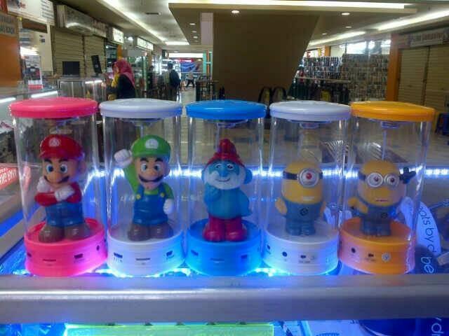 harga Speaker led tabung karakter smurf mario minion Tokopedia.com