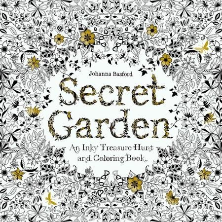 SECRET GARDEN COLORING BOOK FOR ADULTS VERSI BEGINNER BUKU MEWARNAI