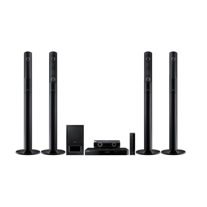 samsung home theater. samsung home theater system 5.1 ht-j5550wk - hitam u