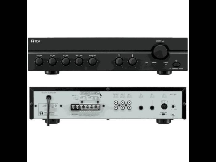 harga Ampli mixer toa za-2060 (60 watt) Tokopedia.com