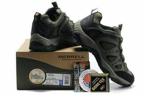 Jual promo sepatu merrel radland castlerock vibram ready uk 40-44 no ... 5b385ab886