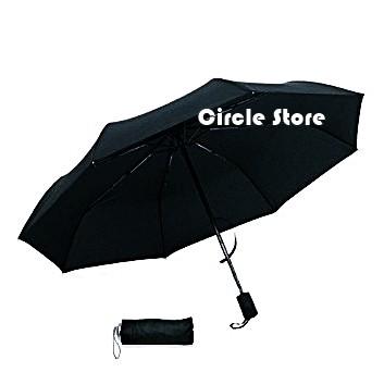 Payung lipat mini big black storm besar