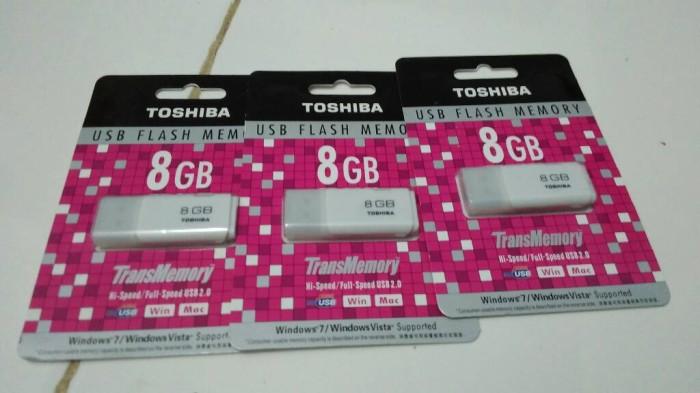 harga Usb toshiba 8 gb/ usb flash drive toshiba 8gb Tokopedia.com