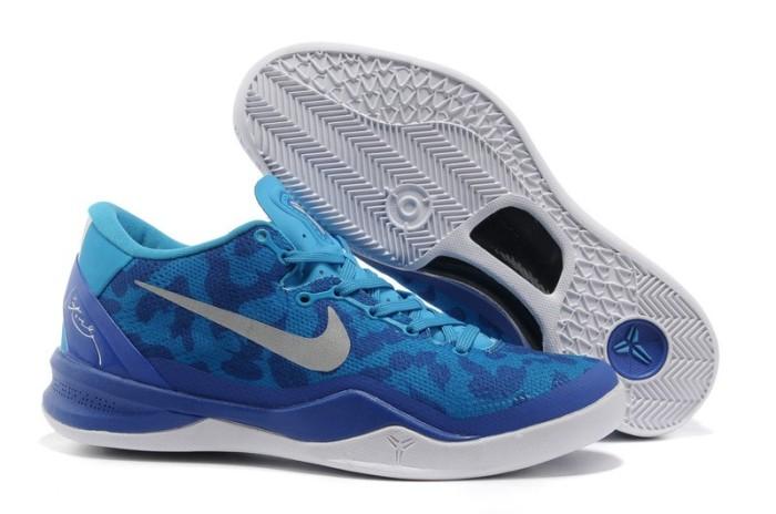 newest 13151 c2e07 Sepatu Nike Kobe 8 (VIII) Blue Coral