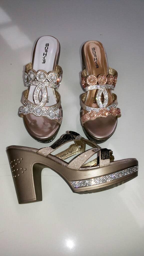 Jual Sofiya heels sandal pesta 11cm - R3 shoes  004bb22516