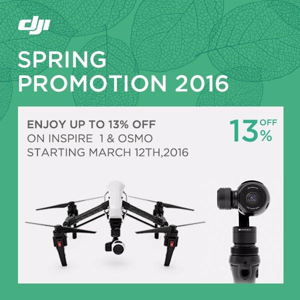 DJI Osmo - Spring Promotion 2016