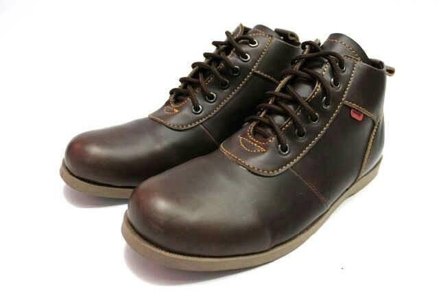 Jual sepatu kulit casual black master brodo - lanzcloth  e214f2fedd