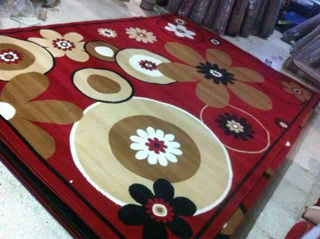 karpet motif bunga