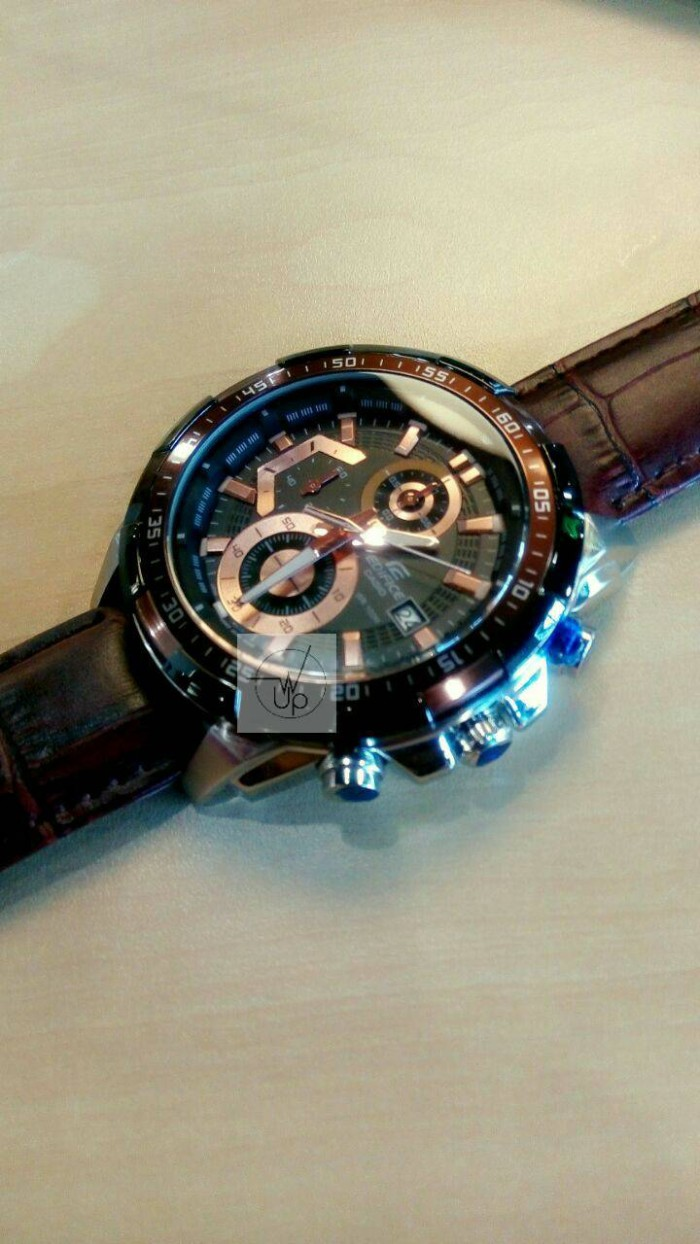 Jual Jam Tangan Casio Edifice Efr 539l Ef 539 Silver Brown Black L