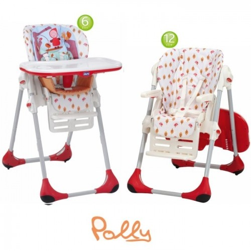 Jual High Chair Chicco Polly 2 In 1 Happy Land Ngoceh Baby