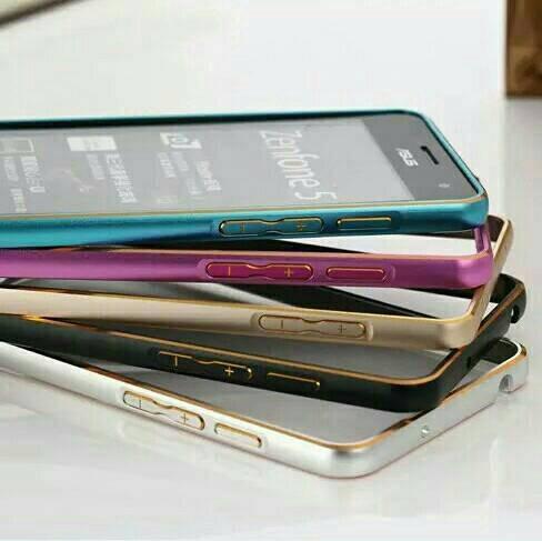 harga Bumper alumunium asus zenfone 5 6 2 selfie slot kunci case cover Tokopedia.com