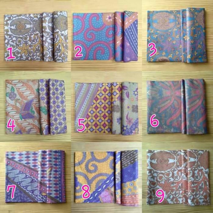 Jual kain batik warna soft pastel  alona batik  Tokopedia