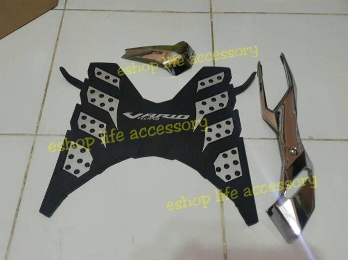 harga Aksesoris vario 150/125 model original karpet+knalpot+filter udara Tokopedia.com