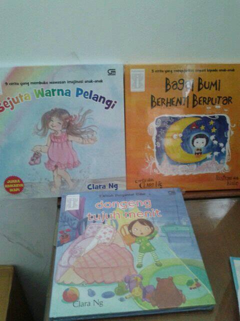 harga Clara Ng : Dongeng Tujuh Menit & Sejuta Warna Pelangi Tokopedia.com