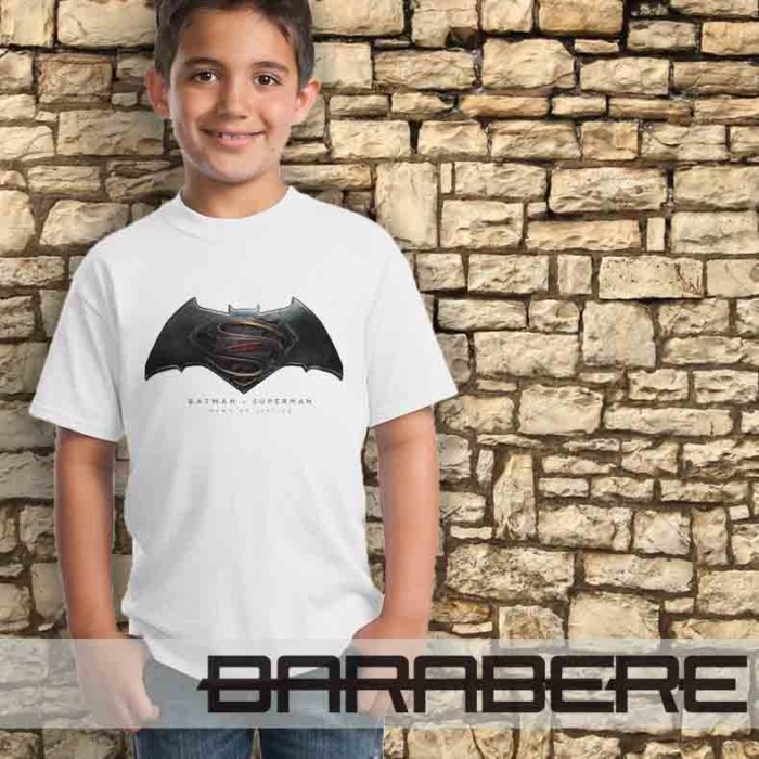 harga Kaos Anak Batman V Superman Tdy02 Tokopedia.com