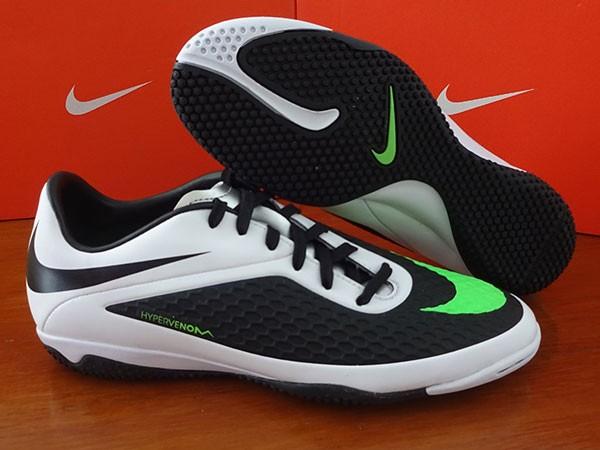 Sepatu Futsal Nike Hypervenom Phelon IC Black White Nike Original new fb97b78792