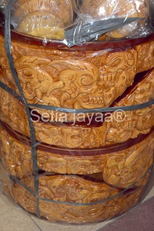 harga Tebok sangkar bulat / tebok fiber motif tengkorak Tokopedia.com