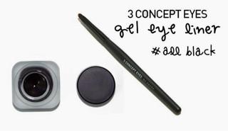 harga 3 concept eyes gel eye liner Tokopedia.com