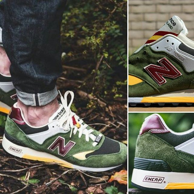Jual New Balance 577 Test Match (made in UK) Olive Green ... b0d2047d6f