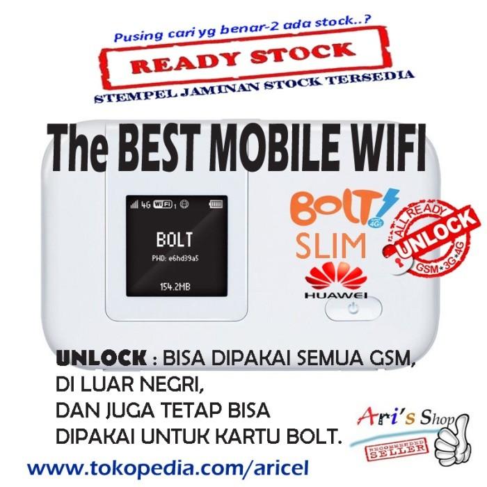 Jual MODEM WIFI 4G BOLT SLIM | HUAWEI E5372 | UNLOCK | TANPA PERDANA BOLT |  - DKI Jakarta - Aftech Computer | Tokopedia