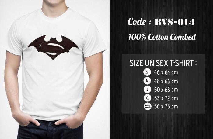 harga Kaos batman vs superman - bvs-014 Tokopedia.com