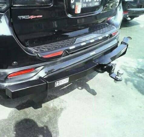 harga Towing bar arb belakang / penarik mobil besi full bumper fortuner Tokopedia.com