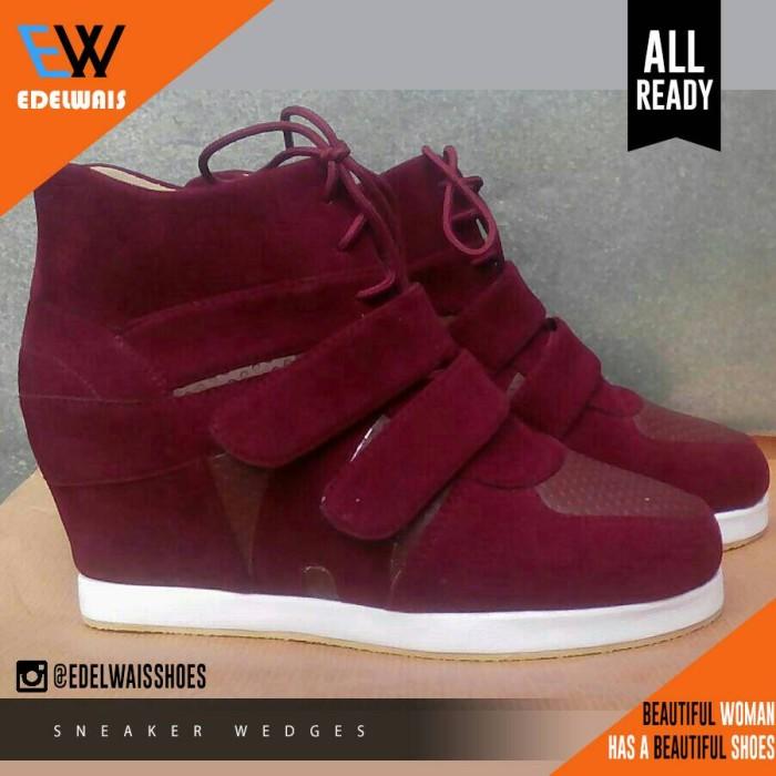 harga Sneaker wedges sepatu boot heels adidas nike platform Tokopedia.com